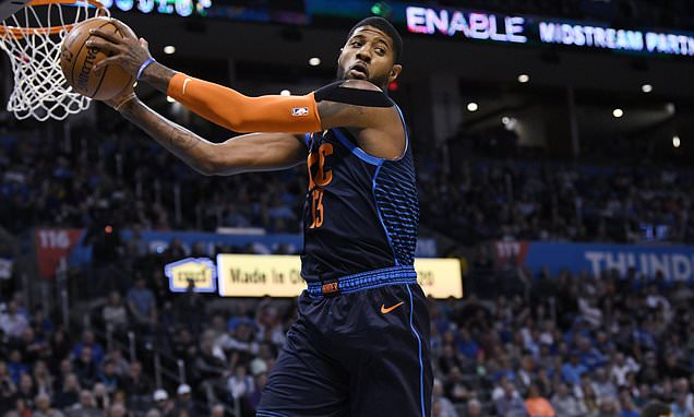 Paul George says diet is key to his success with Oklahoma