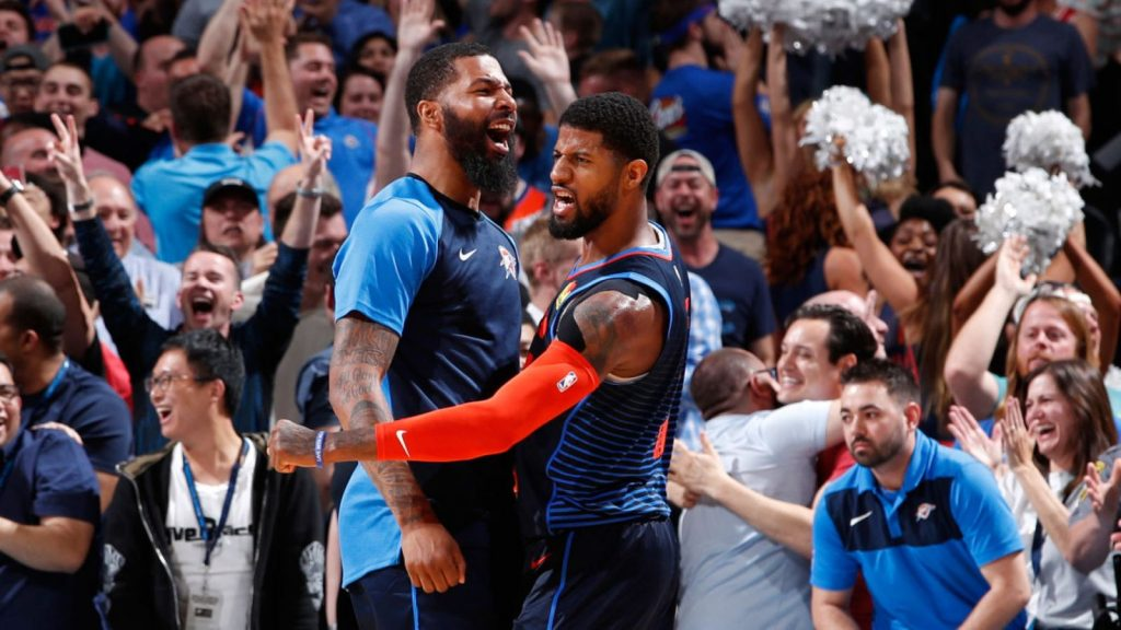Paul George hits clutch three-pointer to seal Oklahoma City Thunder