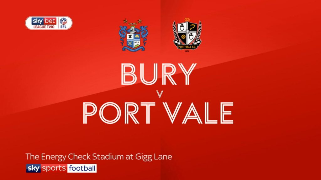 Bury vs Port Vale preview | Tell My Sport