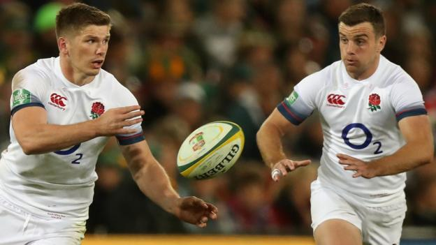 England V New Zealand George Ford Recalled For Rugby World Cup Semi Final Tell My Sport