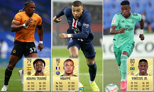 Kylian Mbappe And Adama Traore Are The Fastest Players In Fifa 21 Tell My Sport